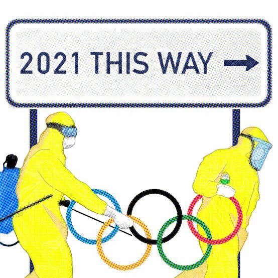POSTPONED OLYMPICS WON'T EVEN HELD IN 2021