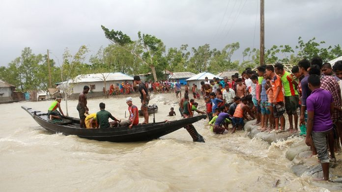 Cyclone Amphan Devastated East-India and Bangladesh