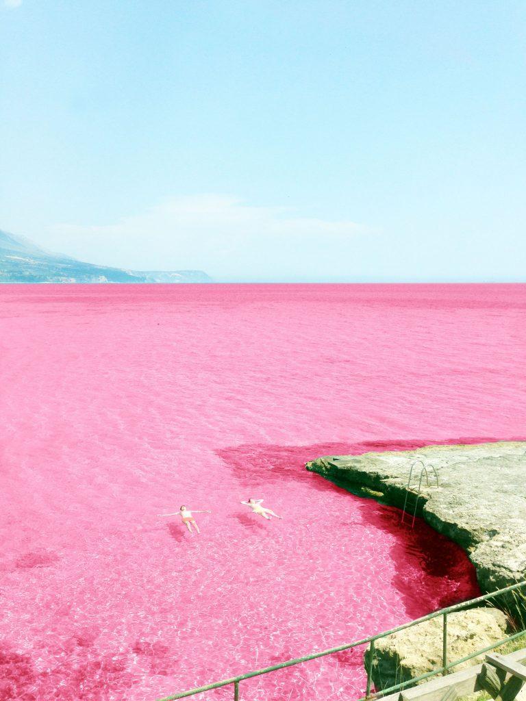 Pink Lake: Pink Water Of Lake Hillier