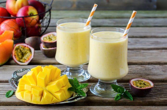 Refreshing Summer Mango Delight Drink