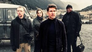 Scene captured while shooting Mission: Impossible