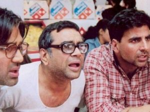 Another laugh buster movie, Hera Pheri can be seen promoting unealthy behavior among audiences.