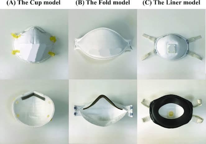 Filtering Facepiece respirstor for distinct facepiece design