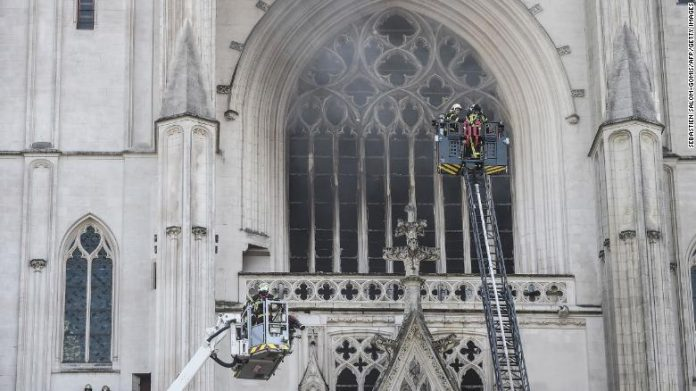 Nantes: Fire Has Been Contained At Cathedral
