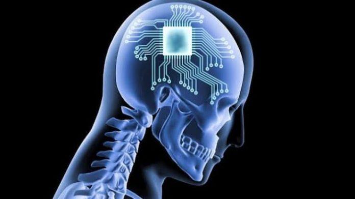 Chip implant into human brain